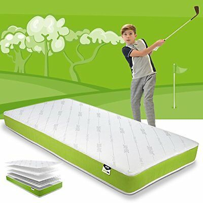 Simply Kids Anti-allergy Foam Free Sprung Mattress, Steel Spring With Hypoallerg