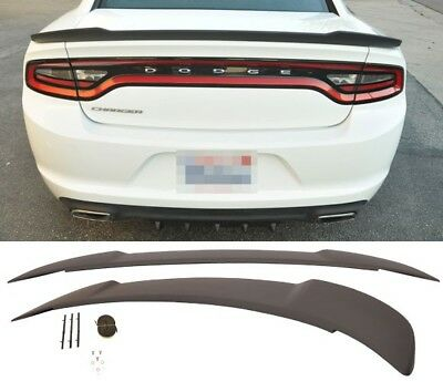 PAINTED FACTORY STYLE Hellcat SPOILER fits the 2011 - 2018 DODGE CHARGER