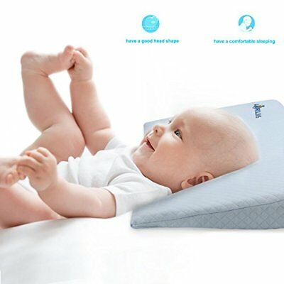 Baby Sleep Pillow Baby Reflux Pillow Wedge With Cotton  Memory Foam Fit For Univ