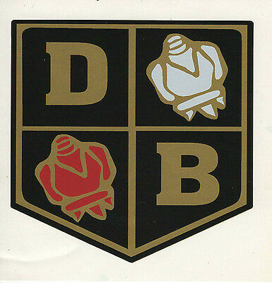 David Brown Tractor Roses Decal - Early Type 68Mm