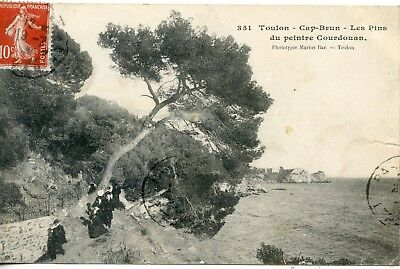 Carte Postale / Toulon / Cap Brun Les Pins Due Peintre Courdouan