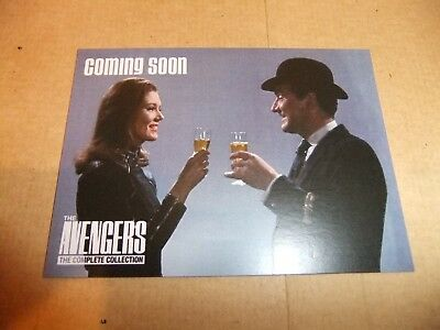 THE AVENGERS COMPLETE COLLECTION UNSTOPPABLE PROMO CARD SUM1 DIANA RIGG MacNEE