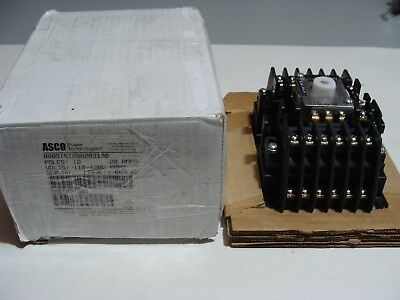 ASCO 12 Pole Lighting Contactor 918  w/ 120v Coil 20 Amp NEW in BOX