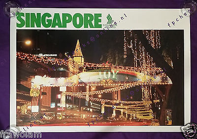 SINGAPORE AIRLINES HISTORY BROCHURE 1972-1992, ROUTE MAP etc ENGLISH ...