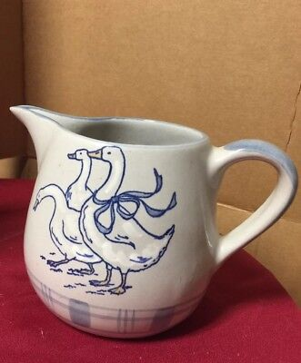 Louisville Stoneware Gaggle Of Geese High Country Pitcher