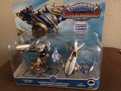 SKYLANDERS SUPERCHARGERS Combo Pack * Hurricane Jet-Vac & Jet Stream  * NEW