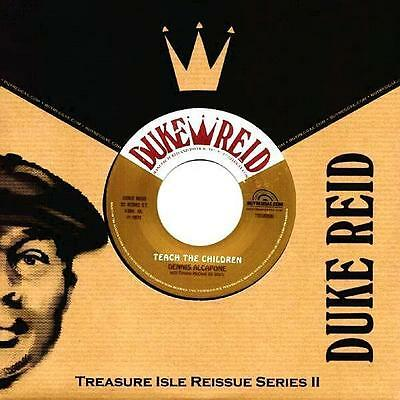 "DENNIS ALCAPONE * Teach The Children + Wake Up Jamaica 7"" neu*new *Treasure Isle"
