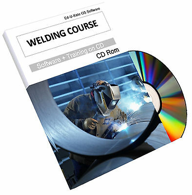 Welder Welding Book Training Course Guide Manual Arc Mig Tig Gas Oxy Spot Mask