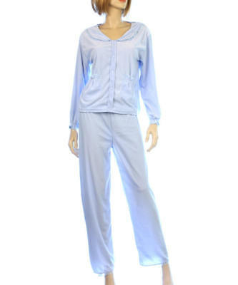Wholesale Lot of 6*Party Girl*Microfleece Blue/Pink 2ps Pajama Sets*Sz.S-XL