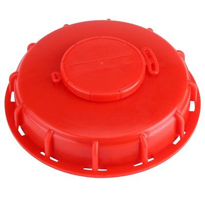 IBC Tank Lid,IBC Tote Fitting Cover Cap for Water Liquid Storage,Plastic Red 163