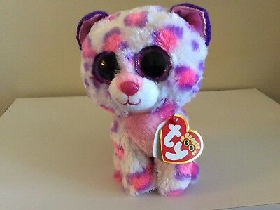 Ty Beanie Boo Jewel The Leopard 6 Justice Exclusive 36160