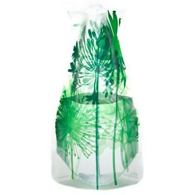 Modgy 66122x2 Myvaz Expandable Flower Vase Boom Bloom Green-Pack of 2