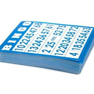 Brybelly Holdings GBIN-202 50 Pack of Bingo Cards with Unique Numbers