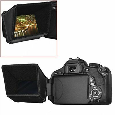 ® 3.5  Lcd Screen Sun Shield Hood For Dslr Cameras And Camcorders, Such As Ca