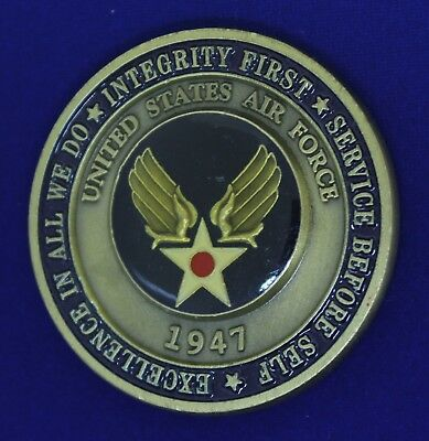USAF Airman's Challenge Coin M-6