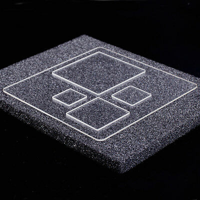 Square Borosilicate Glass Build Plate Collection for 3D Printer (3mm Thick)
