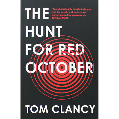 The Hunt for Red October by Tom Clancy (Paperback), Fiction Books, Brand New