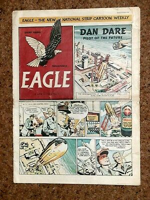 Eagle Comic Number One 1950, First Issue, V.rare.
