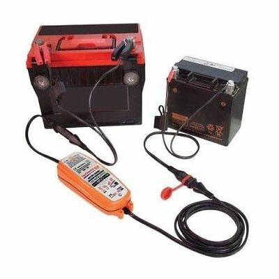 Optimate DC - DC Battery To Battery Charger Maintainer Lawnmower Motorcycle Quad