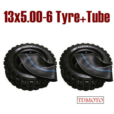 "2*13X5-6 6""inch tyre&tube Ride on Mower Kart ATV Quad Scooter Go-kart Buggy BIKE"