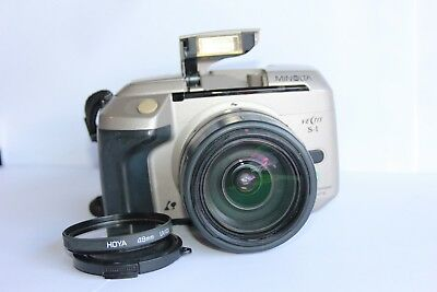 Konica Minolta Vectis S-1 APS SLR Film Camera with 22-80mm lens. Tested working.