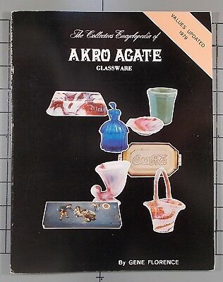 The Collector's Encyclopedia of Akro Agate Glassware