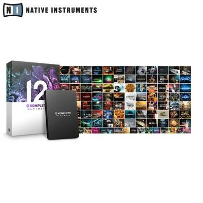 Native Instruments Komplete 12 Ultimate Professional Music Production Software