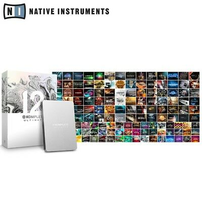 Native Komplete 12 Ultimate Collectors Edition Studio Music Production Software