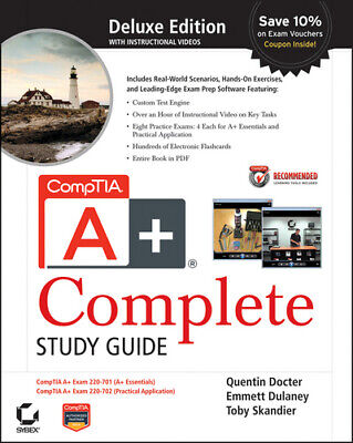 CompTIA A+ complete: deluxe study guide by Quentin Docter (Hardback) Great Value
