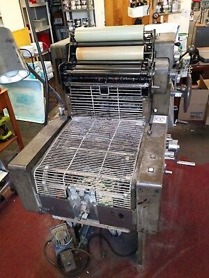 AB DICK 9840 2 Color Offset Printing Press