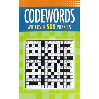 Codewords - With Over 500 Puzzles (Paperback), Non Fiction Books, Brand New