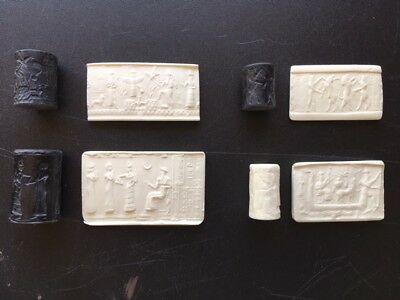 Ancient Mesopotamian Cylinder Seal Set Recreations
