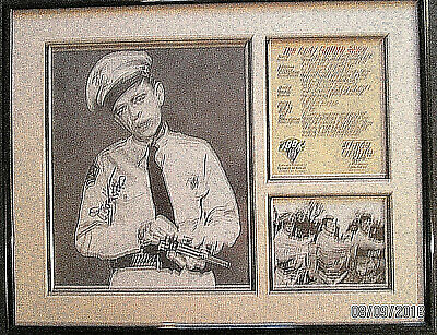 Don Knotts (The Andy Griffith Show) Original Autograph Photo Frame Mated