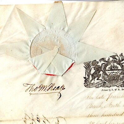 1800, Thomas McKean, Declaration signer, land transfer to signer Charles Carroll