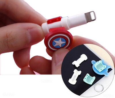 MFI 8 Pin Data/Sync Lightening Cable Protector for Apple Multi-Pack