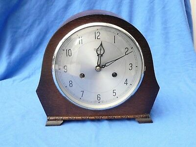 Vintage Smiths  Striking Clock - Serviced and Working order