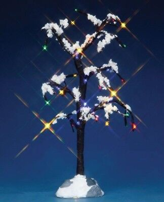 Lemax 44785 Village Accessory Snowy Dry Tree  Battery Operated -