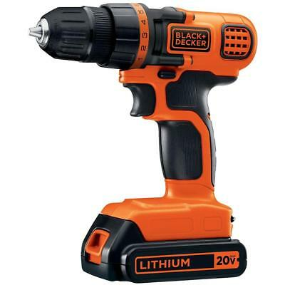 20 Volt MAX Lithium Ion Cordless 3/8 in Drill/Driver Battery 1.5Ah Charger