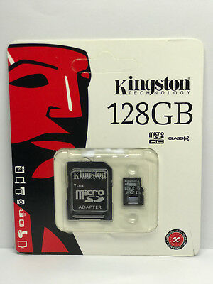 Kingston@¹128 Gb@¹Micro Sd Class 4 10 Microsd Scheda Memoria