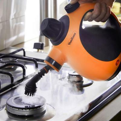 Electric Portable Steam Cleaner Hand Held Pressure Washer Stove Grease Cleaning