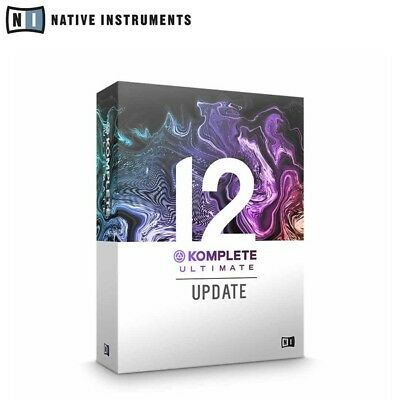 Native Instruments Komplete 12 Ultimate Update from Komplete Ultimate 8-11
