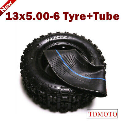 6 inch Front Tyre Tire Tube 13x5-6 Mini ATV Go-kart Quad Scooter Mower Dirt Bike