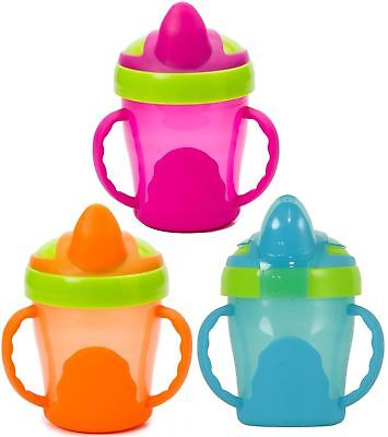 Vital Baby SOFT SPOUT TRAINER CUP 200ml With Handles Baby/Toddler Feeding BN