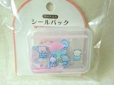 Sanrio  Cheery Chums sitcker pack with mini plastic case  flake 40pcs