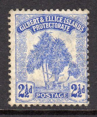 Gilbert & Ellice Islands 1911 Pandanus Pine 2½d Blue SG11 LM/Mint Cat £12
