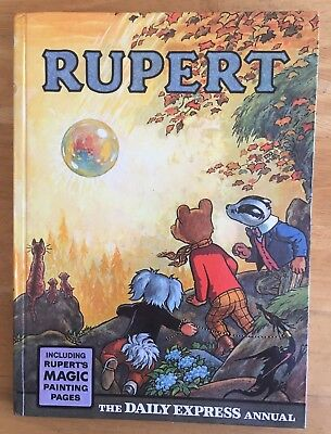 Rupert Annual 1968 Original Fine Magic Paintings Barely Touched