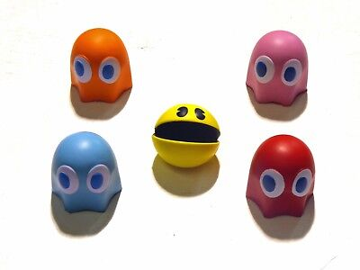 """Pacman & Monsters Slow Expanding 3"""" Squishy Toy. Geniune Licensed"""