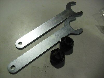 "Porter Cable 1/2""  & 1/4""  Collets and Wrenches For 690 & 890 Series Routers"