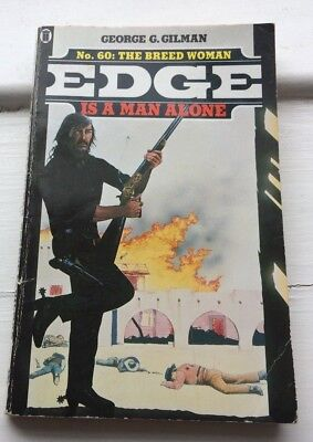 The Breed Woman by George G. Gilman (Paperback, 1989)