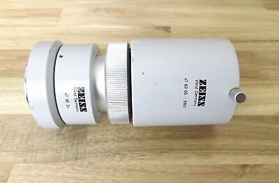 Zeiss Microscope Photo Tube Camera Adapter SLR Part # 473024 And 476005-9901